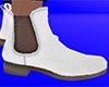 White Chelsea Boots (M)