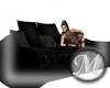 [M] Black Sofa Bed