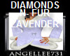 DIAMONDS N FUR LAVENDER