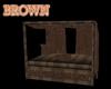 brown gazeebo