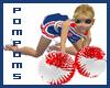 Cheerleader USA Pompoms