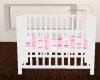 Baby Girl Crib w/Pose