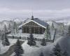 Romantic Winter Cabin