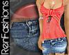$R Lght Mini Skirt -Jean