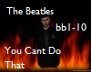 Beatles-Cant Do That