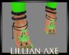 [la] Green weed feet
