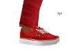 *I* red VANS