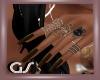 GS Rings N Brown Nails