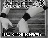 B&W Demon Claws