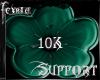 *F* Support 10k Sticker