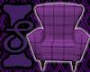 Purple Diamond Chair