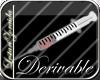 Derivable syringe