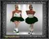 Candy Cane Dress Green