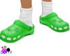 froggy green crocks