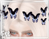 c Butterfly Hairclips