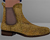 Gold Chelsea Boots 2 (M)