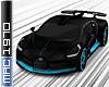 Bugatti Divo Black/Cyan