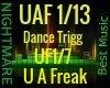 U A Freak (Nasty Girl)