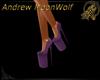 Spring Heels Purple