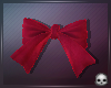 [T69Q] Bow Red Hair