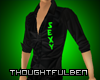 .TB. Green Sexy Shirt