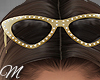 m: Luxury Gold Glasses H