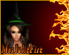 FIRE Witch Hat Green