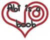 I support Abi sticker