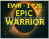 EPIC WARRIOR