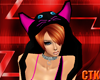 CTK Black Kitty Hood