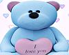 Small soft teddy bear