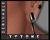 T.Single Earrings Left