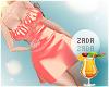 Satin Dress Coral