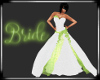 Lime Wedding Dress