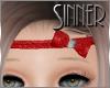 Red Glitter kid Headband