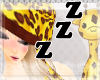 Giraffe  kawaii sleep