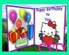 (C75) Happy B'Day Card
