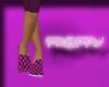 *JJ* Preppy purple flats