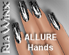Wx:Sleek Allure Blk Gltr