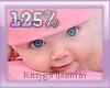 Kids head scaler 125%