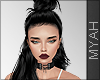 & Flor Hair Bow Black