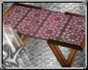 pink boho table