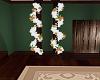 White column garland