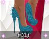 [CCQ]Clipto-Heels Blue