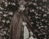 Antique girl-picture