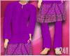 24:Seluar Melayu Purple2