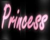 Princess neon sign