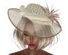Chandra Cream Hat
