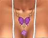 Pink Butterfly Jewelry