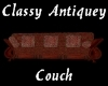 (S)Classy Antiquey Couch